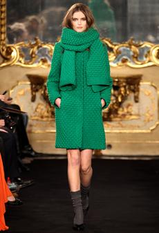 Модные пальто сезона осень 2011