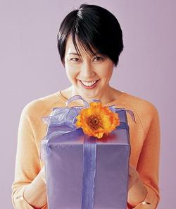 Если принимаешь подарок от мужчины