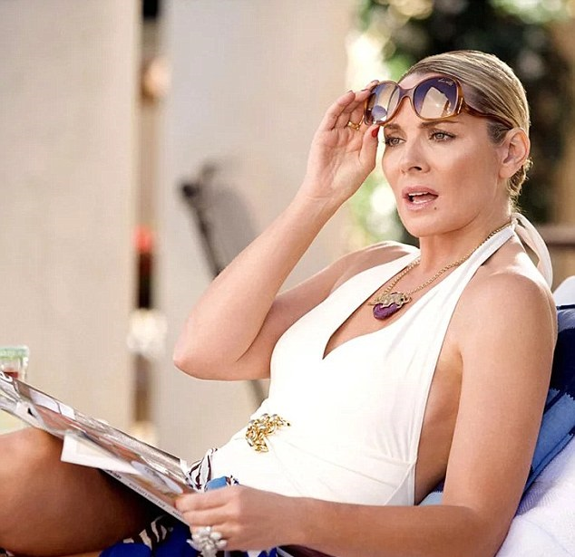 Сериал «Секс в огромном городе» разрушил третий брак Ким Кэттролл