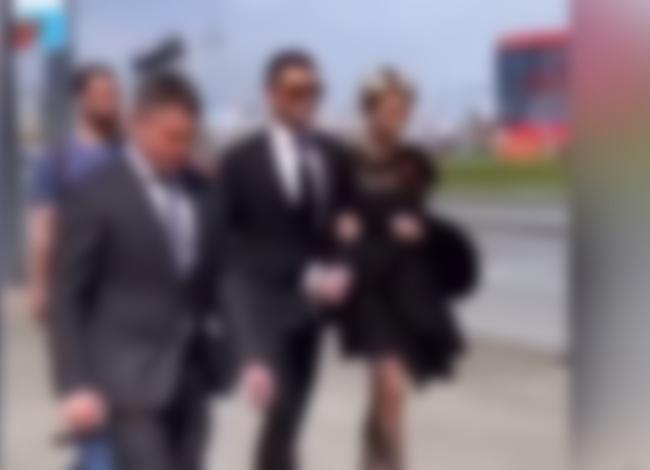Павел Прилучный впервые посетил официальное мероприятие вместе с Мирославой Карпович