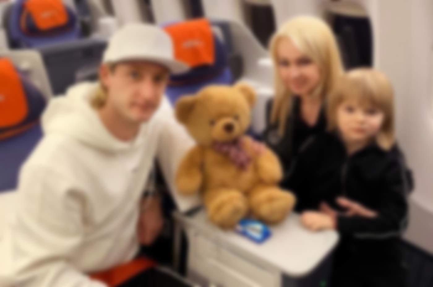 евгений плющенко с сыном последние фото