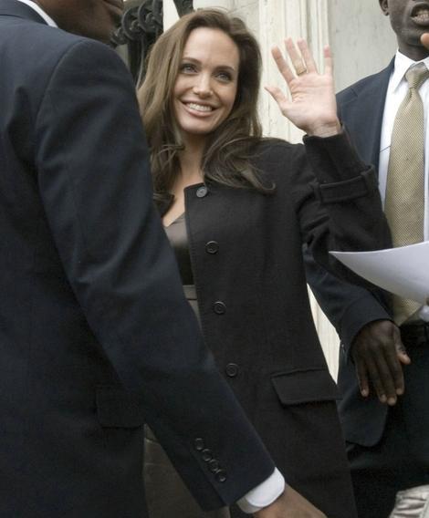 Анджелина Джоли: «Мы с Брэдом спорим только о политике»