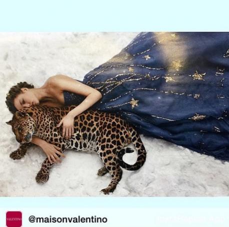 Девушка с гепардом фото