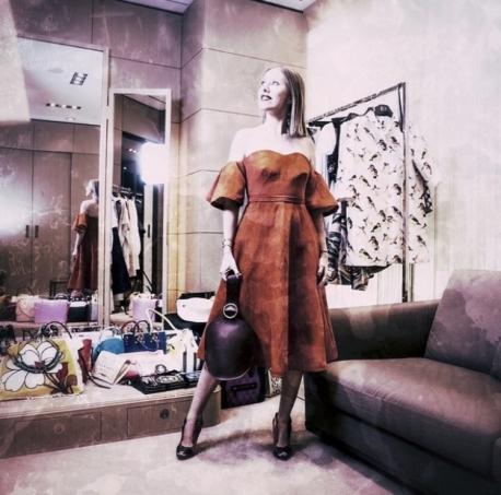 Ксения Собчак похвасталась стройной фигурой
