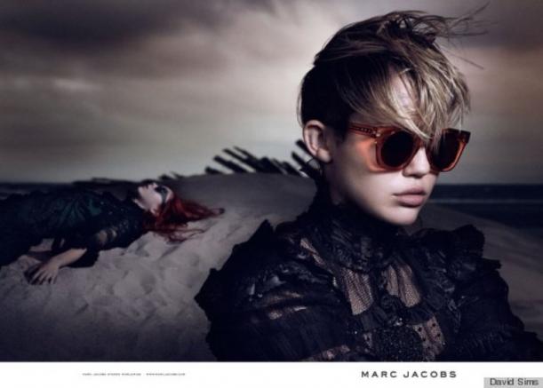 Майли Сайрус для Marc Jacobs