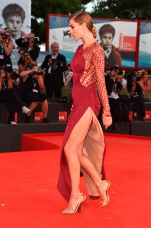 Виктория Боня на премьере в Венеции