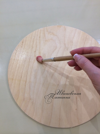 Подставка для торта из фанеры своими руками