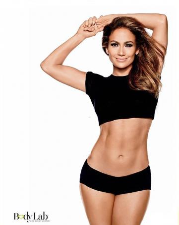 Дженнифер Лопес в рекламной кампании BodyLab