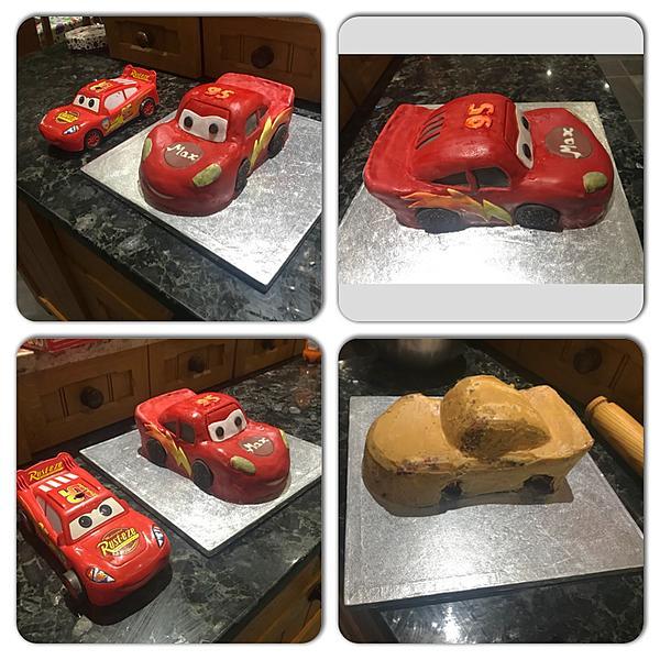 Торт маквин пошагово в домашних условиях фото